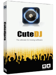CuteDJ Software BoxShot