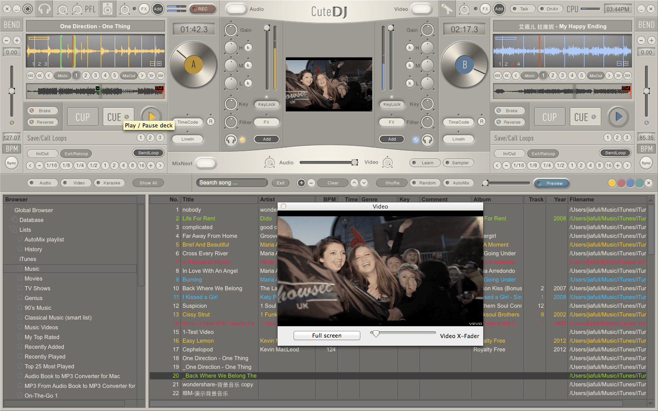 The versatile DJ mixing software for Windows